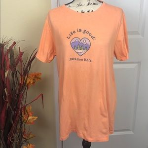 Life is Good T-Shirt - size L
